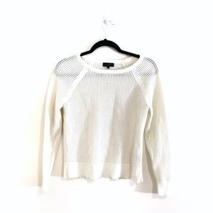 Rag & Bone Open Mesh Knit Shelby Sweater